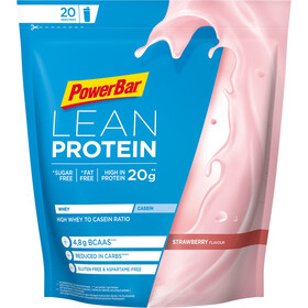 PowerBar Lean Protein Laukku 500g, Strawberry